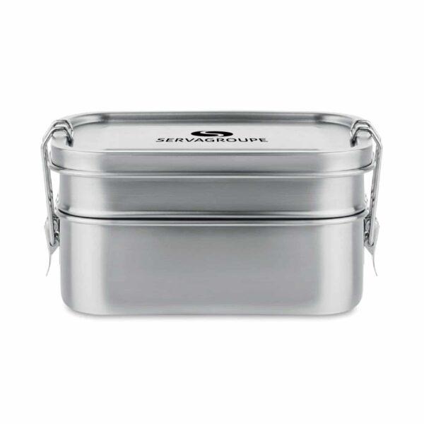 - LUNCH BOX INOX 1200 ML ST03 6212 16 COUVERCLE - E-boutique