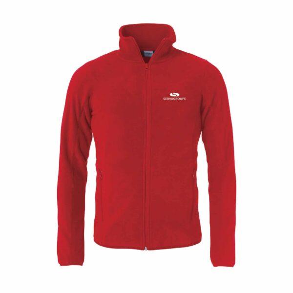 - POLAIRE FULL ZIP UNISEXE ST24 023901 35 - E-boutique